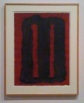 A rare example of a small Rothko on paper - a gouache study for the Seagrams work